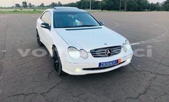 Acheter Importé Voiture Mercedes‒Benz CLK–Class Blanc à Abidjan, Abidjan
