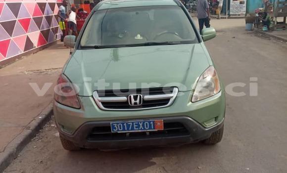 Acheter Occasion Voiture Honda CR–V Vert à Abidjan, Abidjan