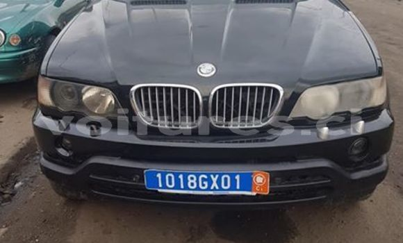 Acheter Occasion Voiture BMW X5 Noir à Abidjan, Abidjan