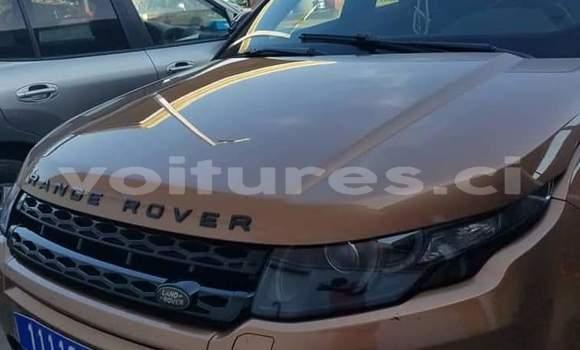 Acheter Importé Voiture Land Rover Range Rover Evoque Marron à Abidjan, Abidjan