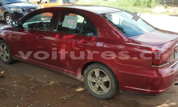 Acheter Occasion Voiture Toyota Avensis Rouge à Abidjan, Abidjan