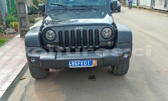 Acheter Occasion Voiture Jeep Wrangler Noir à Abidjan, Abidjan