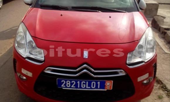 Acheter Occasion Voiture Citroen DS3 Rouge à Abidjan, Abidjan
