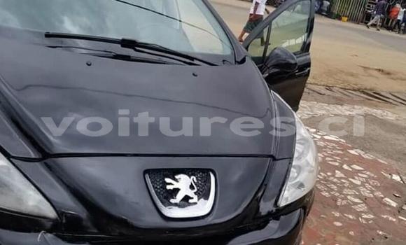 Acheter Occasion Voiture Peugeot 308 Noir à Abidjan, Abidjan
