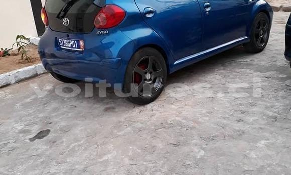 Acheter Occasion Voiture Toyota Aygo Bleu à Abidjan, Abidjan