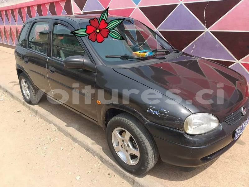 Buy Used Opel Corsa Black Car In Abidjan In Abidjan