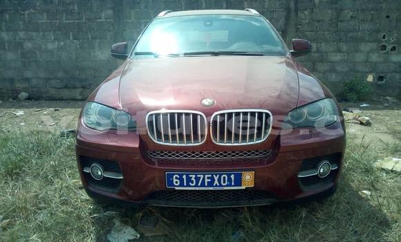 Acheter Occasion Voiture BMW X6 Rouge à Abidjan, Abidjan