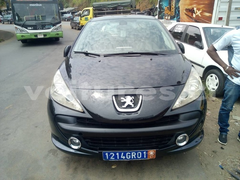 Acheter Occasion Voiture Peugeot 207 Noir A Abidjan Abidjan