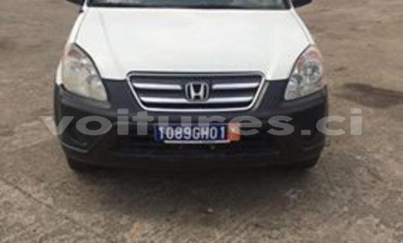 Acheter Occasion Voiture Honda CR–V Blanc à Abidjan, Abidjan