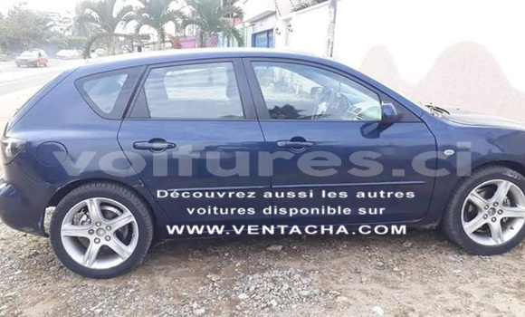 Acheter Occasion Voiture Mazda 3 Bleu à Abidjan, Abidjan