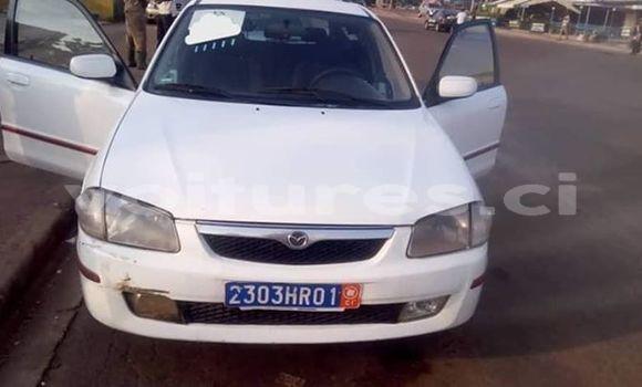 Acheter Occasion Voiture Mazda 323 Blanc à Abidjan, Abidjan
