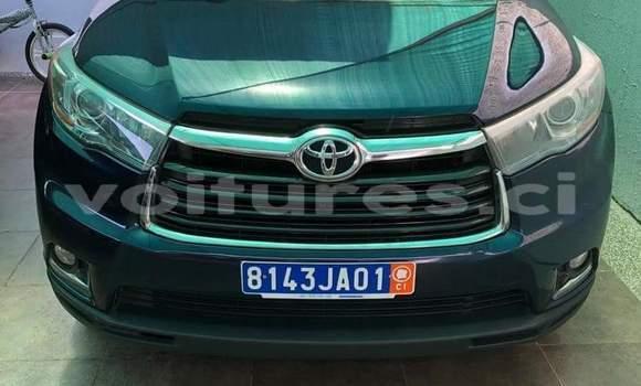 Acheter Occasion Voiture Toyota Highlander Bleu à Abidjan, Abidjan