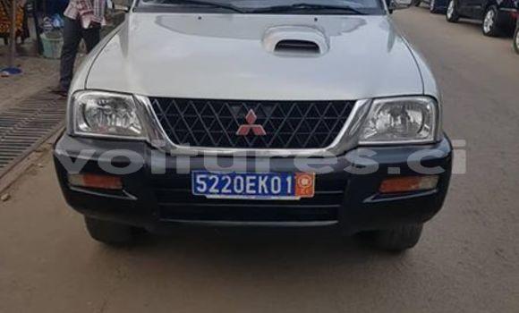 Acheter Occasion Voiture Mitsubishi L200 Gris à Abidjan, Abidjan