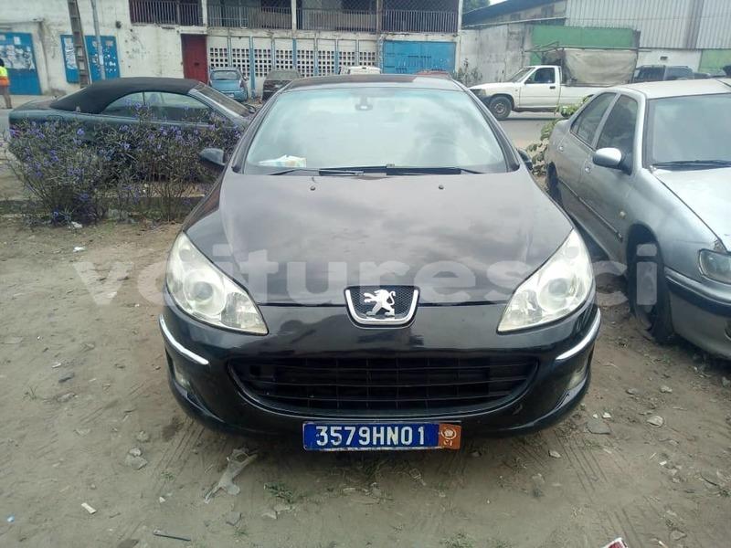 Acheter Occasion Voiture Peugeot 407 Noir A Abidjan Abidjan