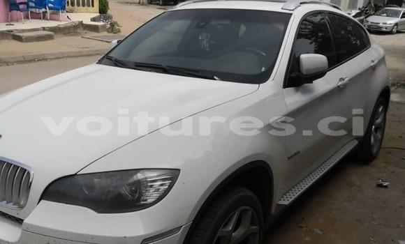 Acheter Occasion Voiture BMW X6 Blanc à Abidjan, Abidjan