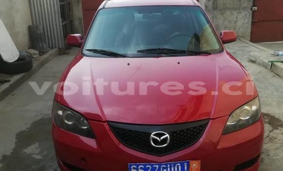 Acheter Occasion Voiture Mazda 3 Rouge à Abidjan, Abidjan