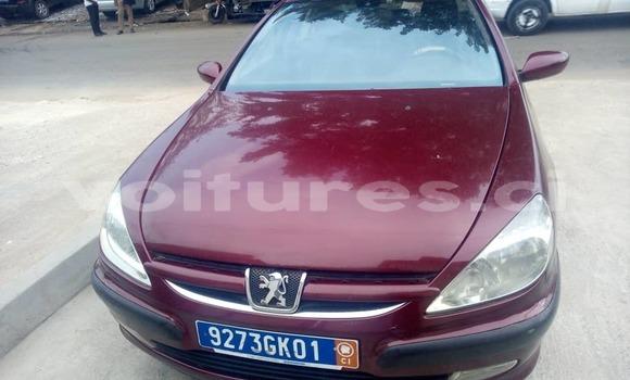 Acheter Occasion Voiture Peugeot 607 Rouge à Abidjan, Abidjan