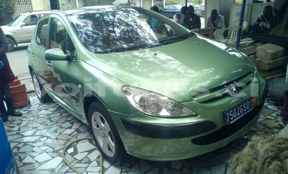 Acheter Occasion Voiture Peugeot 307 Vert à Abidjan, Abidjan