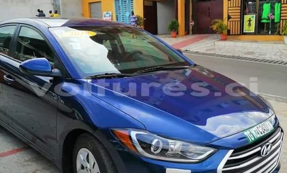 Acheter Importé Voiture Hyundai Elantra Bleu à Abidjan, Abidjan