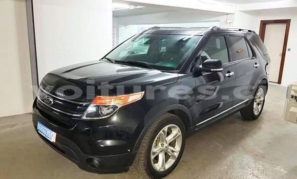 Acheter Occasion Voiture Ford Explorer Noir à Abidjan, Abidjan