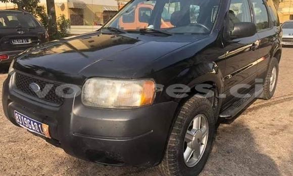 Acheter Occasion Voiture Ford Escape Noir à Abidjan, Abidjan