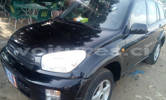 Buy Used Toyota RAV4 Black Car in Abidjan in Abidjan