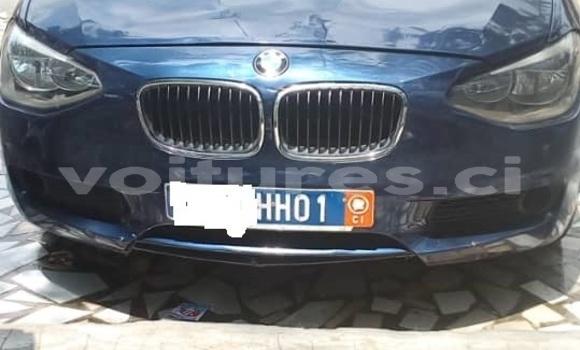 Acheter Occasion Voiture BMW X1 Bleu à Abidjan, Abidjan