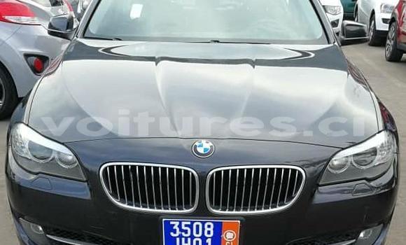 Acheter Importé Voiture BMW 5–Series Noir à Abidjan, Abidjan