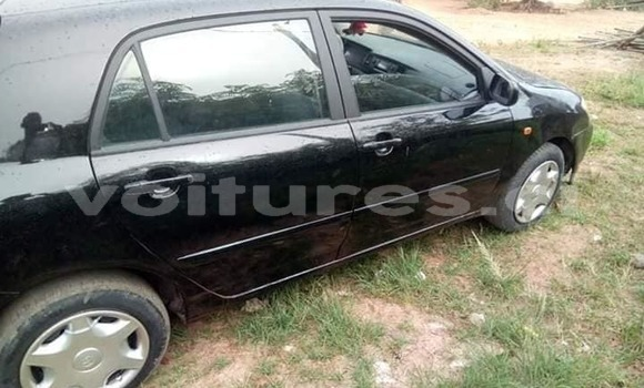 Acheter Occasion Voiture Toyota Corolla Noir à Abidjan, Abidjan