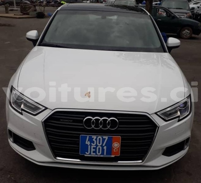 Buy Import Audi A3 White Car In Abidjan In Abidjan Voitures Ci