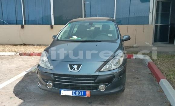 Acheter Occasion Voiture Peugeot 307 Gris à Abidjan, Abidjan