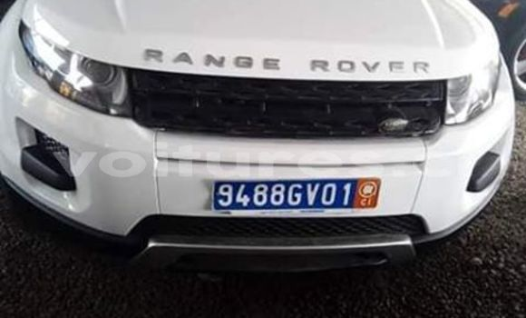 Acheter Occasion Voiture Land Rover Range Rover Evoque Blanc à Abidjan, Abidjan