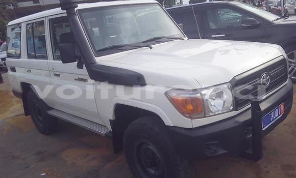 Acheter Occasion Voiture Toyota Land Cruiser Blanc à Abidjan, Abidjan