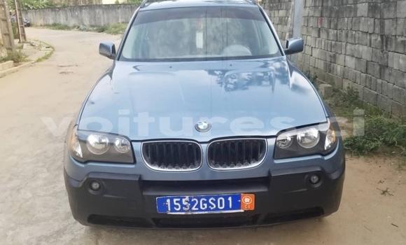 Acheter Occasion Voiture BMW X3 Bleu à Abidjan, Abidjan