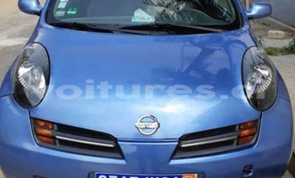 Acheter Occasion Voiture Nissan Micra Bleu à Abidjan, Abidjan