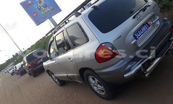 Acheter Occasion Voiture Hyundai Santa Fe Gris à Abidjan, Abidjan