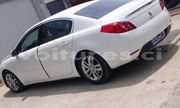Acheter Occasion Voiture Peugeot 508 Blanc à Abidjan, Abidjan