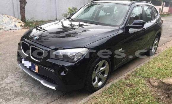 Acheter Occasion Voiture BMW X1 Noir à Abidjan, Abidjan