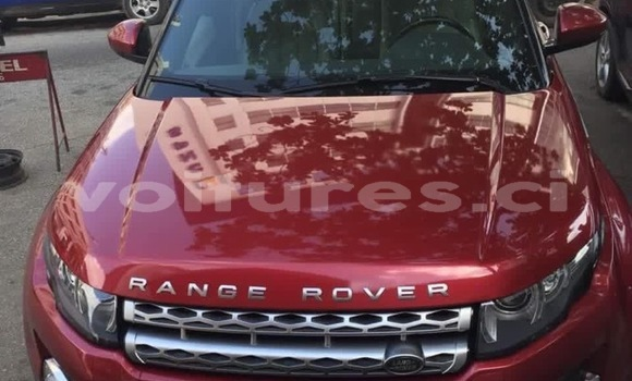 Acheter Occasion Voiture Land Rover Range Rover Evoque Rouge à Abidjan, Abidjan