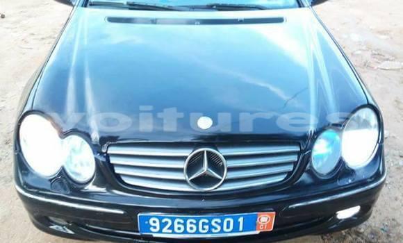Acheter Occasion Voiture Mercedes‒Benz CLK–Class Noir à Abidjan, Abidjan