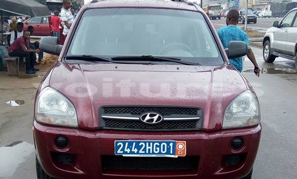 Acheter Occasion Voiture Hyundai Tucson Rouge à Abidjan, Abidjan