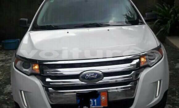 Acheter Occasion Voiture Ford Edge Blanc à Abidjan au Abidjan