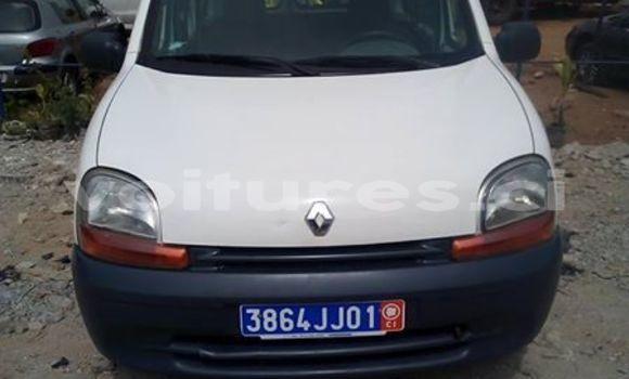 Acheter Occasion Voiture Renault Kangoo Blanc à Abidjan, Abidjan
