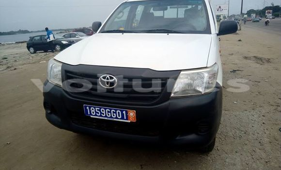 Acheter Occasion Voiture Toyota Hilux Blanc à Abidjan au Abidjan