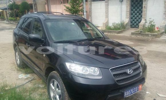 Acheter Occasions Voiture Hyundai Santa Fe Noir à Abidjan au Abidjan