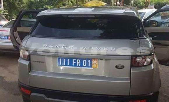 Acheter Occasion Voiture Land Rover Range Rover Evoque Gris à Abidjan, Abidjan