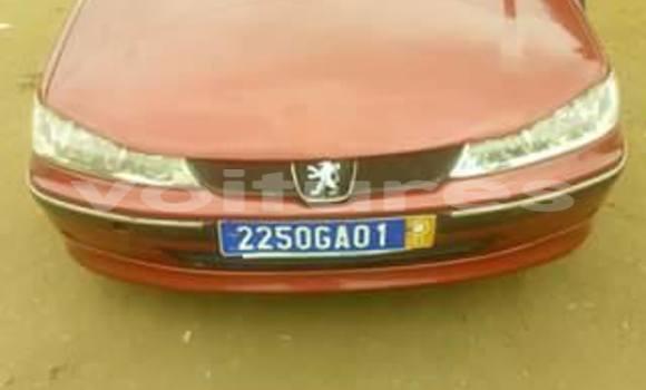 Acheter Occasion Voiture Peugeot 406 Rouge à Abidjan au Abidjan