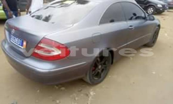 Buy Used Mercedes‒Benz CLK-Class Silver Car in Abidjan in Abidjan