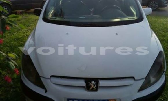 Acheter Occasion Voiture Peugeot 307 Blanc à Abidjan au Abidjan