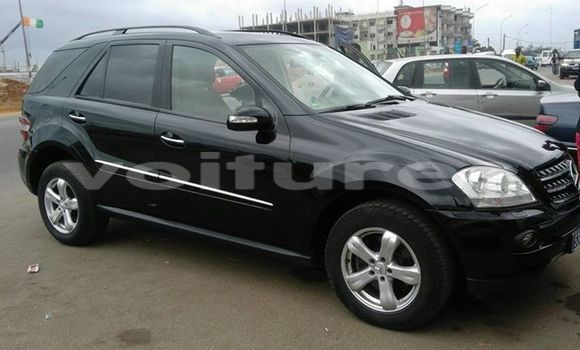 Buy Used Mercedes‒Benz ML-Class Black Car in Abidjan in Abidjan